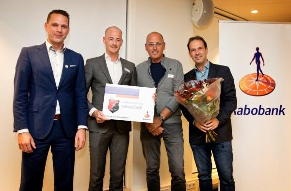 Rabobank en Vitesse Delft tekenen overeenkomst