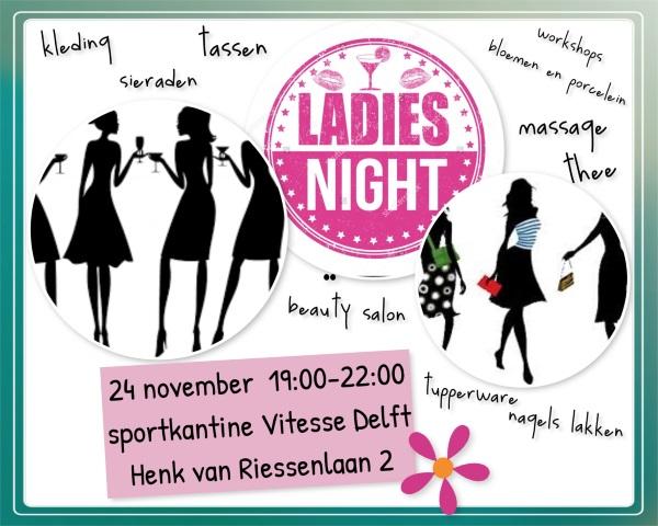 Ladies Night 24 november 2017