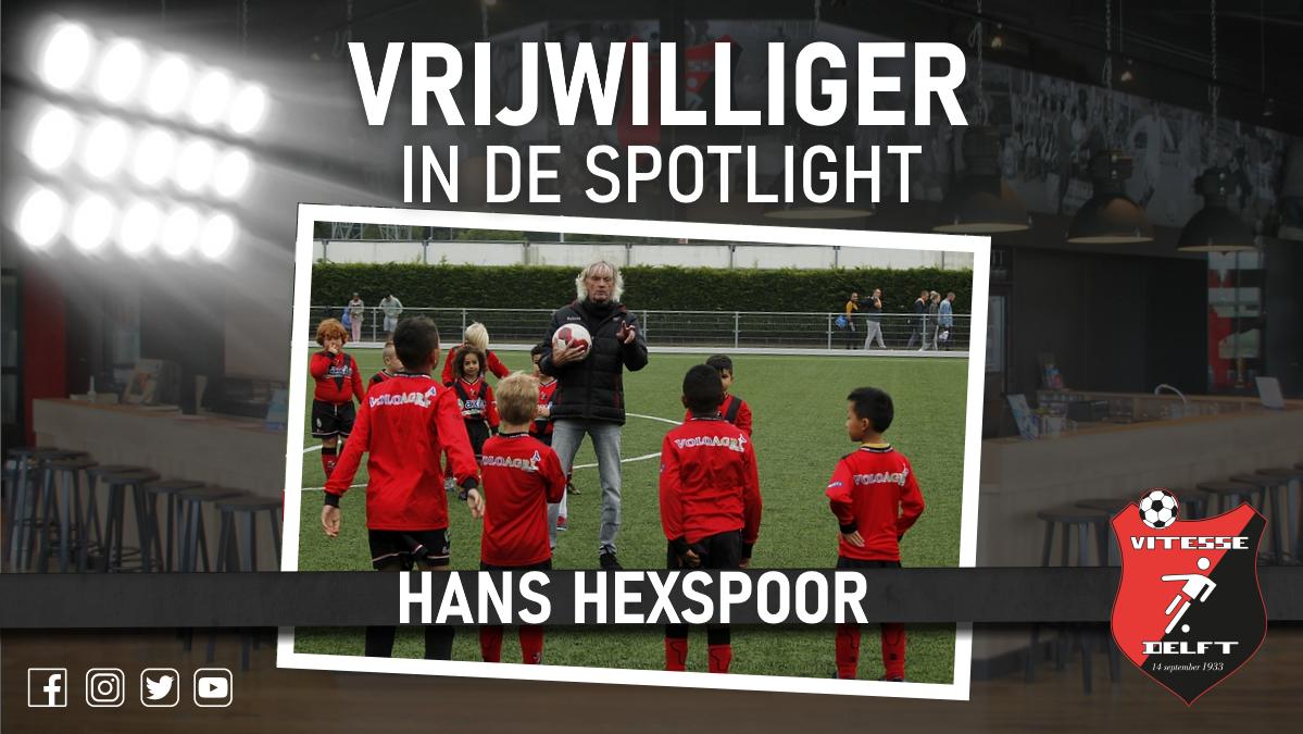 Vrijwilliger in de spotlight: Hans Hexspoor
