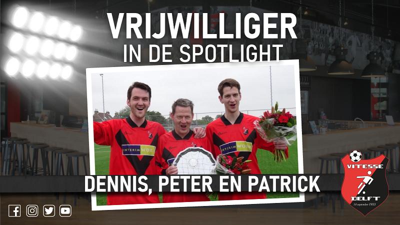 Vrijwilliger in de spotlight: Peter, Dennis en Patrick Marijs