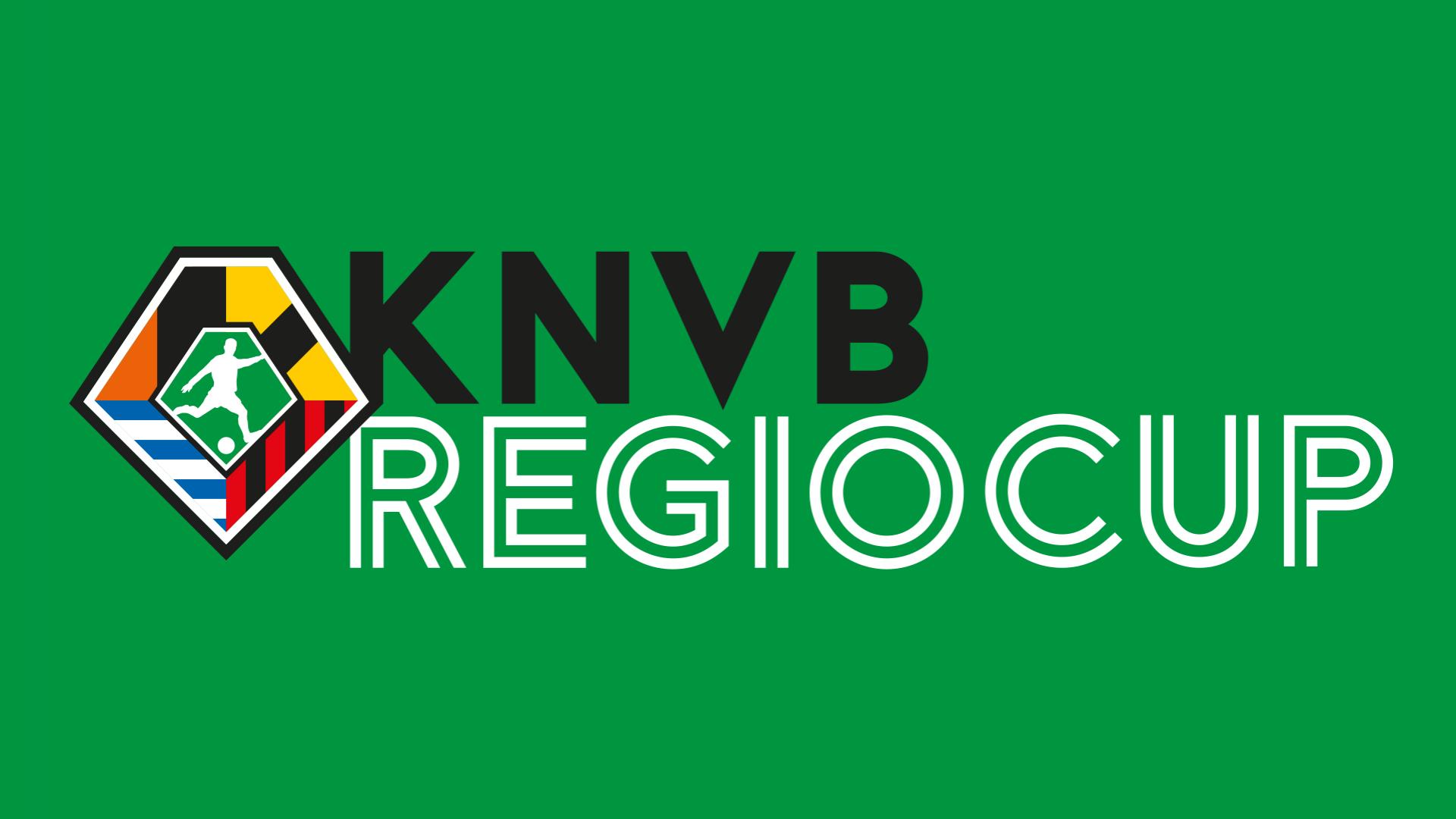Indeling Regiocup bekendgemaakt door de KNVB