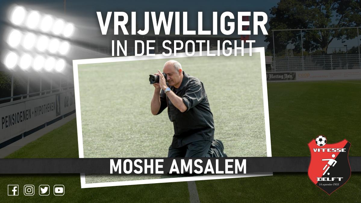 Vrijwilliger in de spotlight: Moshe Amsalem