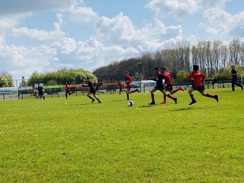 Onderlinge wedstrijd Vitesse Delft jeugd 1 mei 2021