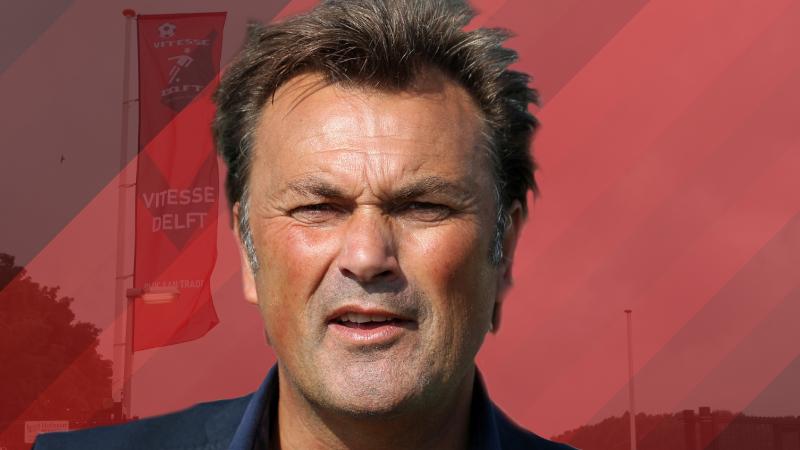 Ronald Hes volgend seizoen nieuwe hoofdtrainer Vitesse Delft