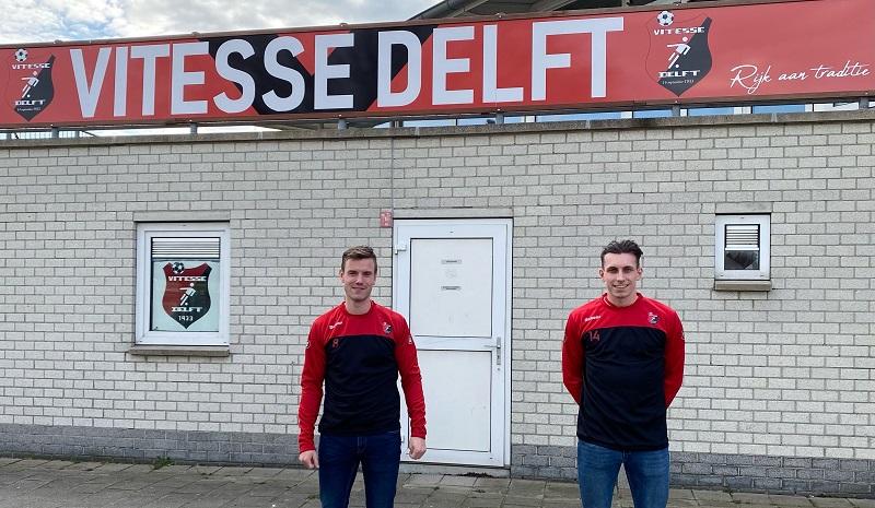 Vitesse Delft versterkt zich met Mike Hollenberg, Levie Schut en Anthony Fortes