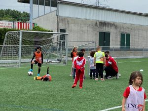 Laatste training Vitesse Delft Mini's