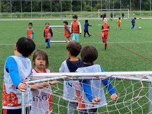 Laatste training Vitesse Delft Mini's 2