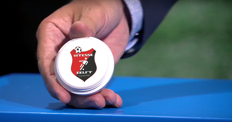 Bekerindeling voor Vitesse Delft bekend